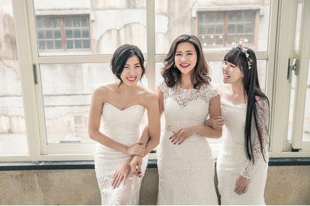 克蕾絲 閨蜜婚紗 20170520
