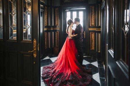 克蕾絲手工婚紗 pre wedding 老英格蘭