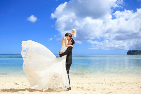 克蕾絲手工婚紗 pre wedding 海外婚紗