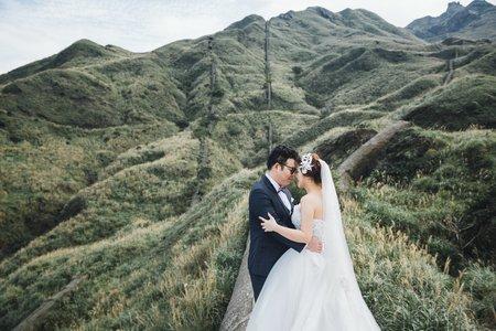 克蕾絲手工婚紗 pre wedding 四川新人