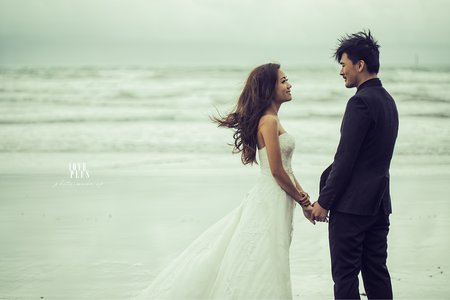 克蕾絲手工婚紗 pre wedding
