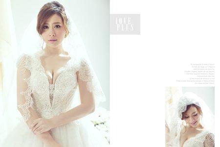 克蕾絲手工婚紗 pre wedding 個人寫真
