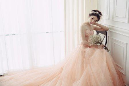克蕾絲手工婚紗 pre wedding 禮服寫真
