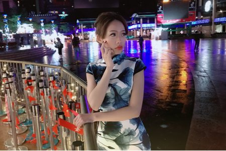 中式敬酒造型