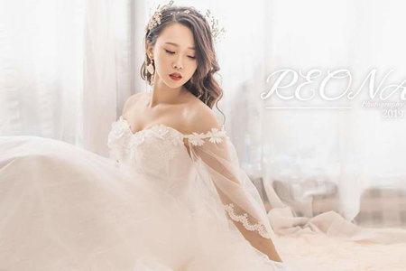 棚內拍攝婚紗