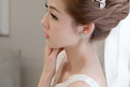 新秘Vicky Li ★新娘造型作品--淇淇