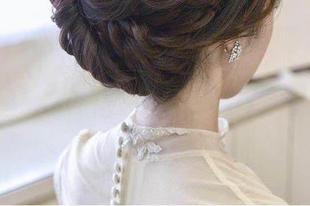 新秘Vicky Li ★新娘造型作品--庭禎