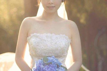 新秘Vicky Li ★自助婚紗Kevin