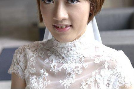新秘Vicky Li ★短髮新娘--夢露 (寒舍艾麗)