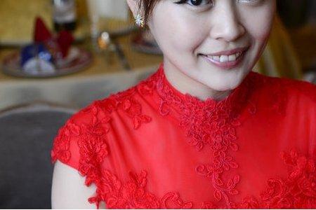 新秘Vicky Li ★婚宴新秘--欣怡