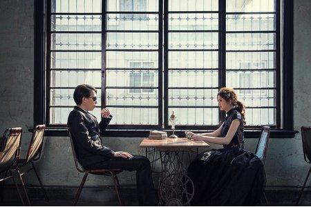 新秘Vicky Li ★自助婚紗欣怡&立強