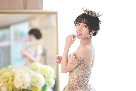 新秘Vicky Li ★婚宴新秘--柏妤