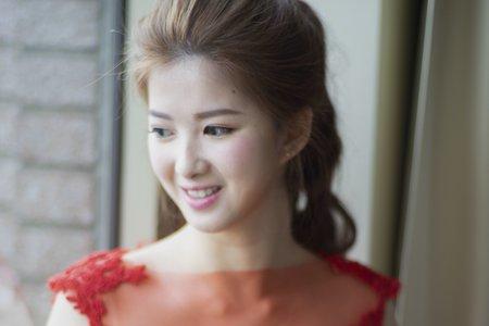 新秘Vicky Li ★婚宴新秘--翡麗詩莊園
