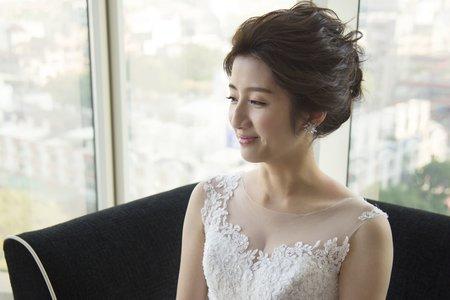 新秘Vicky Li ★婚宴新秘--台中林酒店