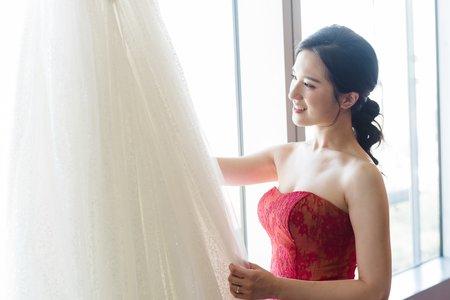 新秘Vicky Li ★新娘造型婚宴--民權晶宴