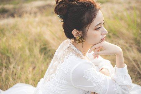 新秘Vicky Li ★舊時光婚紗