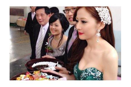 台北桃園新秘-訂結婚造型Liou Huei
