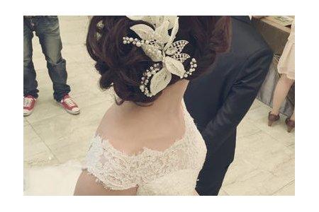 台北桃園新秘-訂結婚造型YU JEN