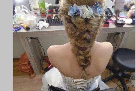 新娘造型-日系髮型-2