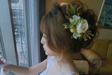 台北桃園新娘秘書編髮造型