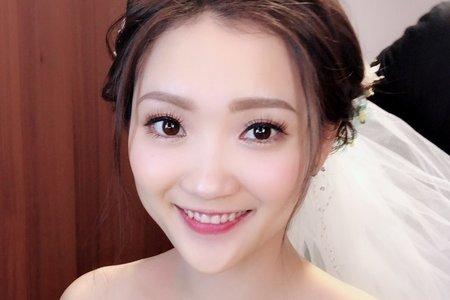 仙氣新娘白紗造型
