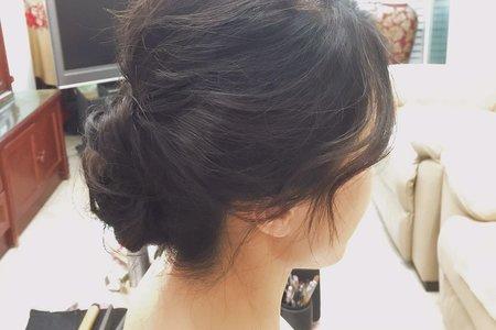 就愛子恩。新娘試髮(不含妝)