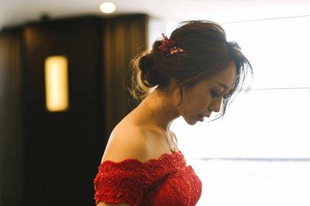 紅色禮服精選造型