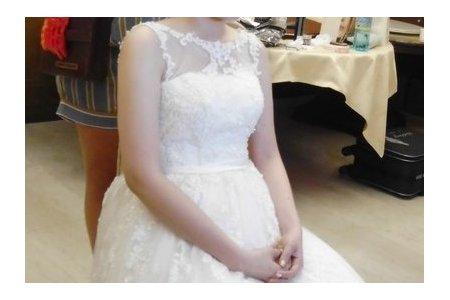 Bride-秀芳-婚禮造型