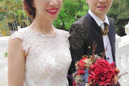 Bride-之璘-婚禮造型
