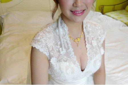 Bride-宜雯-婚禮造型