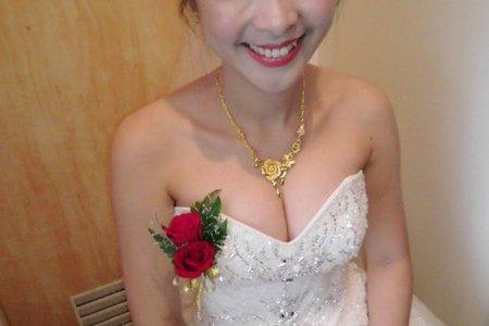 Bride-玟瑜-婚禮造型