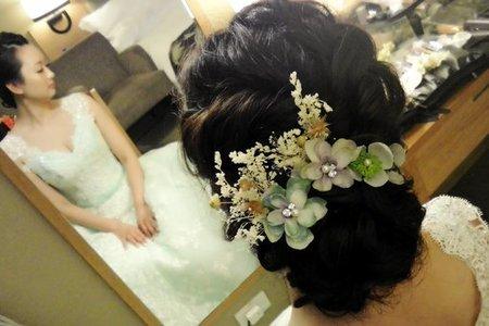 Bride-雯伊-婚禮造型