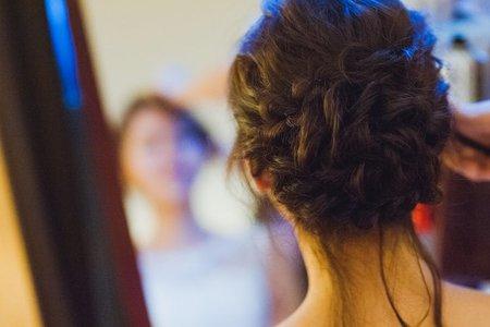 Bride-雅雅-婚禮造型