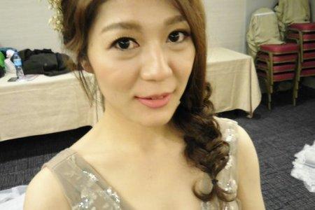 Bride-淑芳-婚禮造型