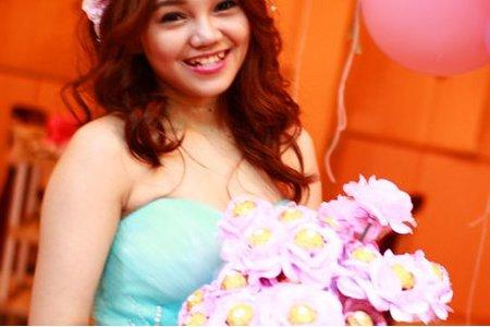 Bride-靜婷-婚禮造型