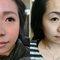 """客人有接睫毛的習慣,因為單眼皮, 會需要用貼睫毛的方式支撐一下! 昨日還是用分段式的睫毛去填補本來睫毛的空洞,再運用堆疊排練讓兩種睫毛""""密斯""""在一起。 在添個眼皮貼☺就會有美美的眼睛啦?"""