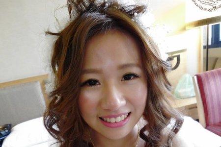 Bride-雁婷-婚禮造型