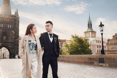 Eve 捷克拉格海外婚紗
