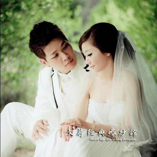 典藏系列婚紗包套作品