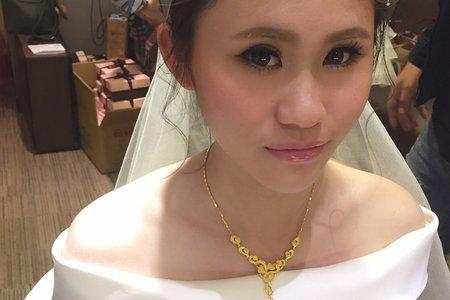 新娘宴客造型 ♥ 明娟 ♥