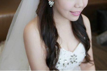謝瑩結婚造型