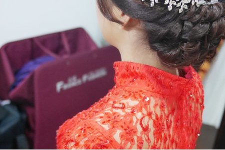 萱萱結婚造型