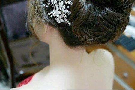 佩玲結婚造型