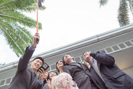 台北婚禮紀錄-溫馨感人的戶外婚禮-