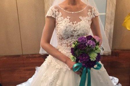 Bride melanie