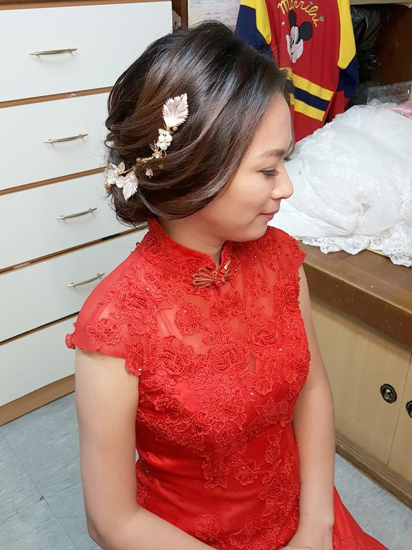 明妏 文定造型(編號:298397) - 髮妝師 志學 ( VIC )《結婚吧》