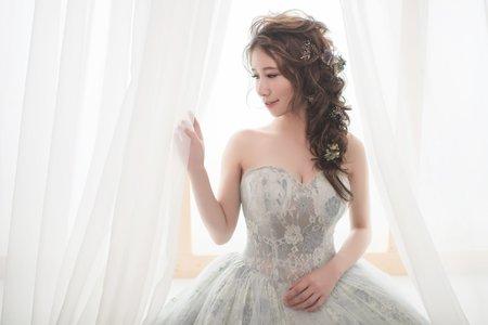 浪漫婚紗造型