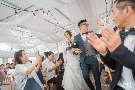 台北典華空中花園戶外婚禮