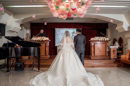 [台中] 陶禮春風 | 訂結 + 教會證婚 + 午宴