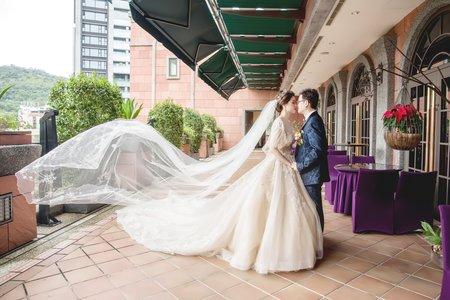 [台北] 維多利亞酒店 | 儀式+戶外證婚+午宴